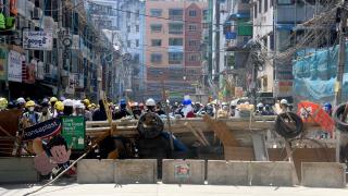 緬甸續有示威反對軍事政變 東盟今開特別會議商討局勢