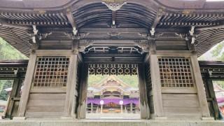 【某隅】能拿起大石便願望成真 新潟最大級神社彌彥神社