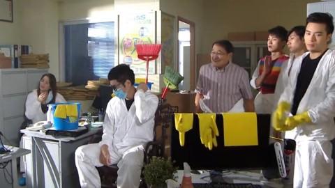 【開心速遞】「五一」黃手套惹爭議 傳負責導演遭無綫解僱