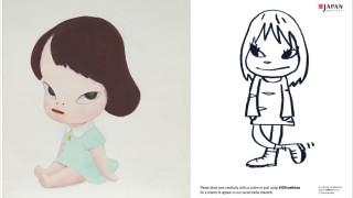 奈良美智《温室女孩(白色房間III)》將亮相保利與富藝斯秋拍 為其藝術創作生涯最完整作品集之封面作品