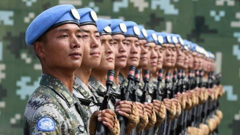 【來論】中國發表維和專題白皮書的背後啟示