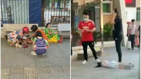 【有片】男子番禺幼稚園外斬人 5名學生受傷