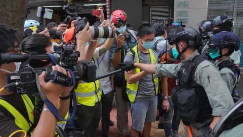 【梁文聞】警方修訂傳媒代表定義-防以記者之名行示威之實