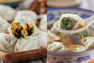 【日常滋味】鵝肝+元貝蝦仁餡 上海弄堂鮮製餛飩
