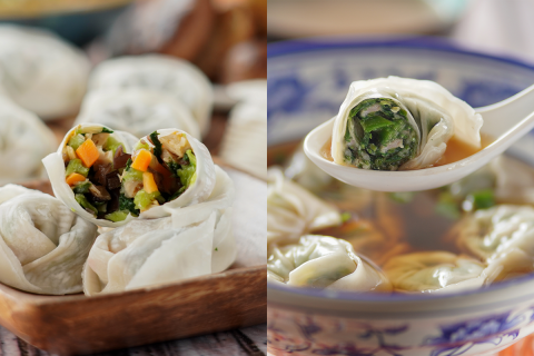 【日常滋味】鵝肝+元貝蝦仁餡-上海弄堂鮮製餛飩