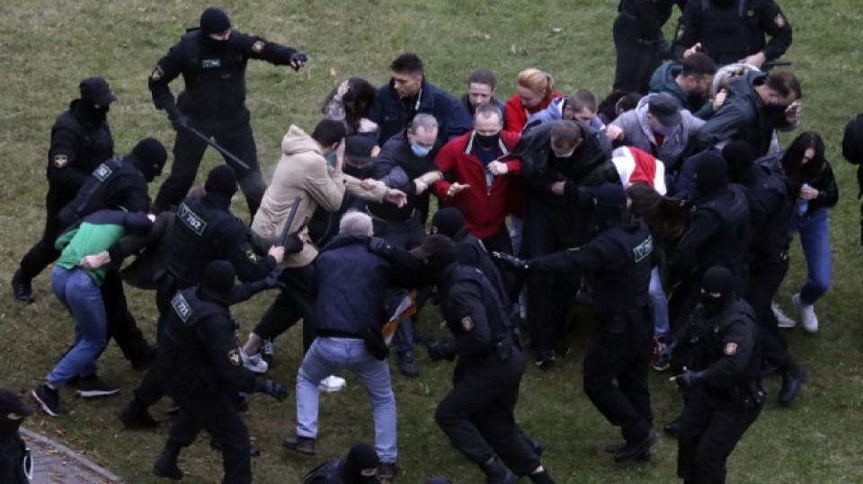 测试---白俄羅斯示威持續