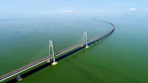 【大灣區】港珠澳大橋開通兩年 經珠海口岸旅-客達1792萬人次?