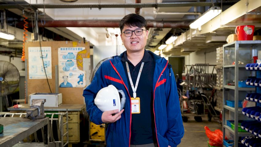 【我在華潤】守護鮮肉供應的男人 李永達:這裡將工程知識實踐