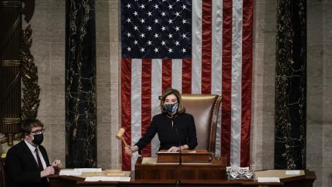 美眾議院通過彈劾議案 特朗普成史上首位兩度被彈劾總統