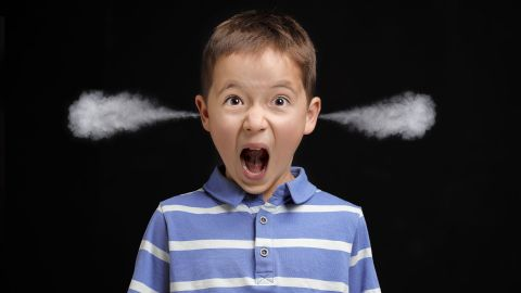 孩子發脾氣是好事?
