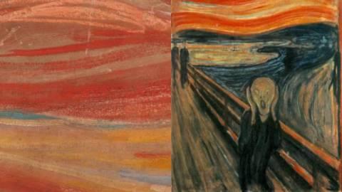 【藝聞】《吶喊》隱藏字句料為畫家親筆:「只有瘋子才畫得出來」