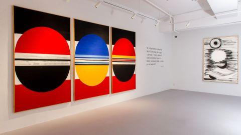 【看展覽】3812畫廊十週年-展出英國抽象藝術家泰瑞佛洛斯特作品