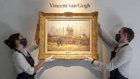 【藝聞】梵高畫作《蒙馬特街景》百年來首次曝光-繪於創作黃金時期