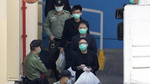 【「初選」案】-21被告完成保釋陳辭 法庭續聽取其餘26被告申請