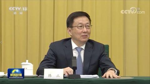 【有片】韓正:香港管治權必須掌握在堅定的愛國者手中