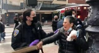 【有片】三藩市華裔婆婆遇襲案 天眼揭持棍打低兇徒另有其人