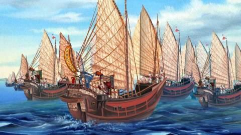 【中國海圖史】航線最長的世界航海圖
