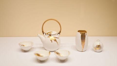 【看展覽】一新美術館展香港藝術家中西合璧山水畫及陶瓷作品