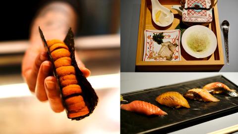 【小編試食】足料北海道海膽手卷 SUSOSHU全新廚師發辦套餐