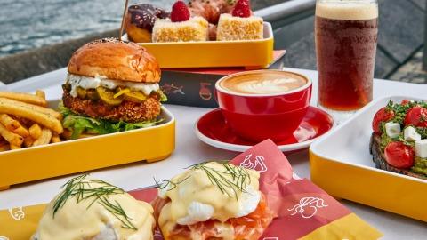 【日常滋味】母親節限定活力早餐-尖沙咀露天餐廳手工美食
