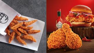 【日常滋味】KFC聯乘TABASCO 推出全新辣椒仔脆雞+漢堡包
