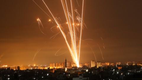 【有片】以色列遭逾1500枚火箭彈襲擊 巴以衝突正向「全面戰爭」升級