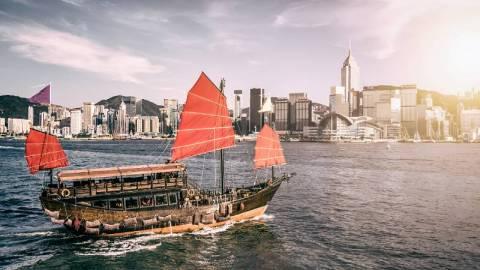 【中國海圖史】從「紅香爐」、「紅江」到國際都市「香港」