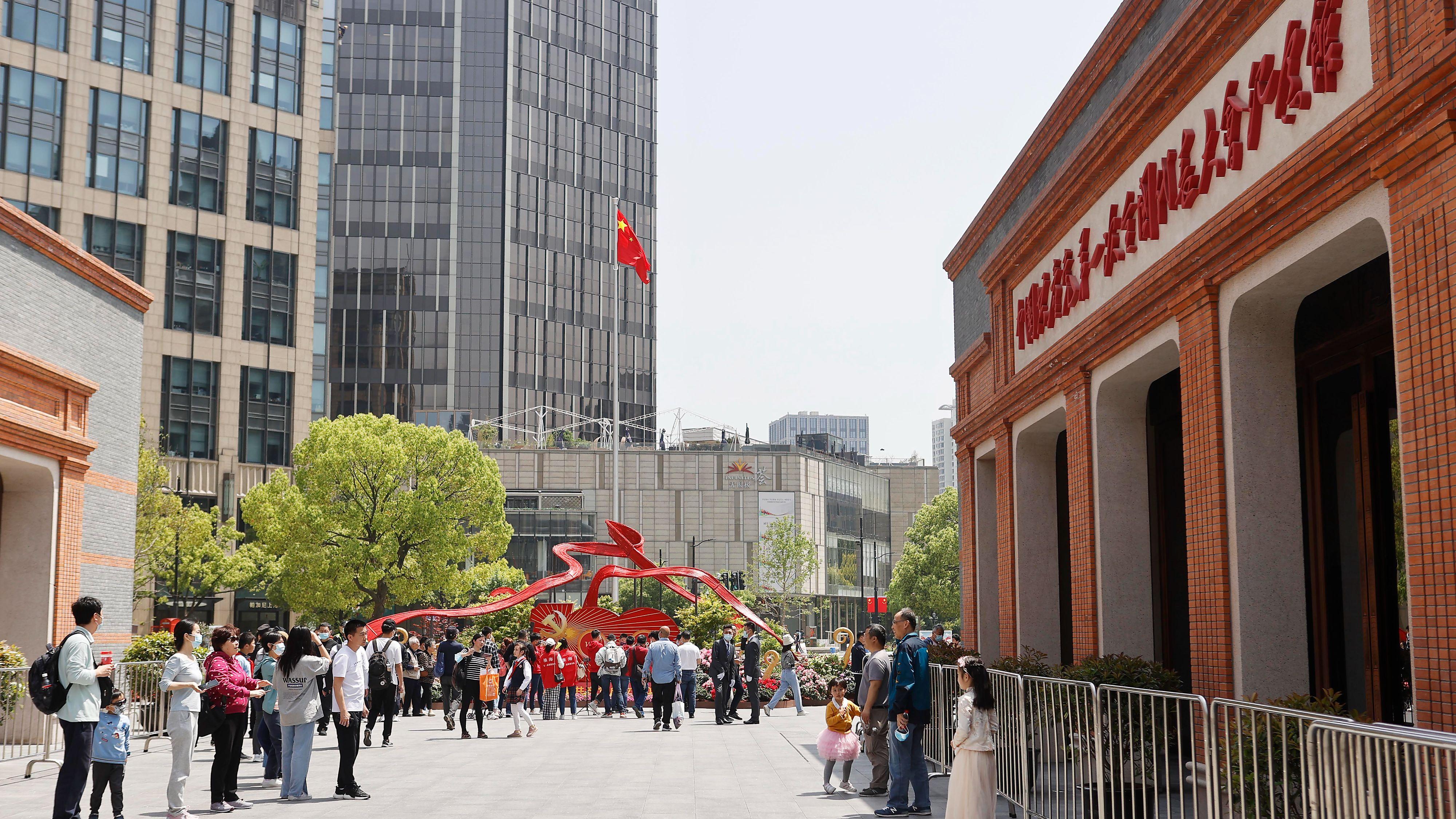 上海中共一大紀念館全新開放 展出612件文物