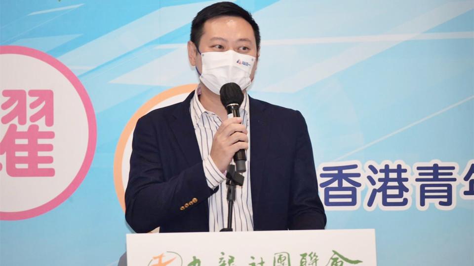 徐英偉:政府續做好培育工作 助港青把握大灣區機遇
