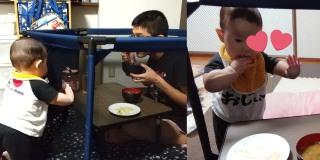 「悲慘」爸爸食飯受阻 太太一招對付「進撃」的BB!