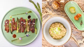 【日常滋味】韓式炒粉絲卷/沙蔘 土生花全新三款嚐味菜單