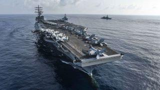 美印將在印度洋舉行軍演 美海軍出動列根號航母打擊群