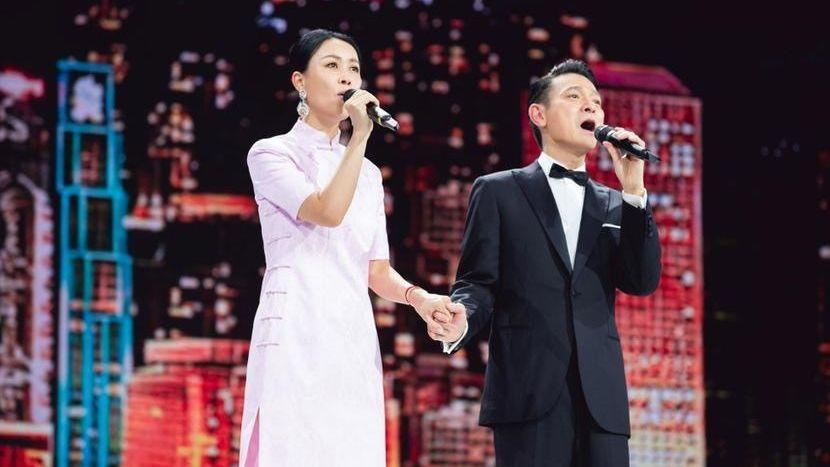 【有片】劉德華那英時隔24年再同台演唱《東方之珠》 獻禮中共建黨百周年