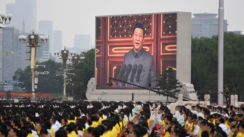 習近平:任何想把中國共產黨同人民分割對立的企圖都絕不會得逞