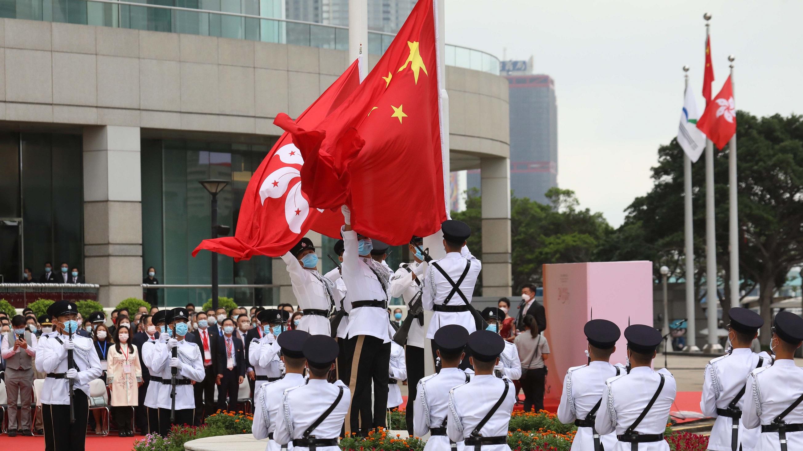 【李曉兵】百年大黨與香港的過去、今天和未來