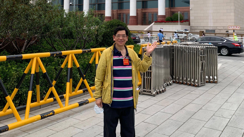 容永祺:中國必然實現第二個百年奮鬥目標 香港同胞與有榮焉