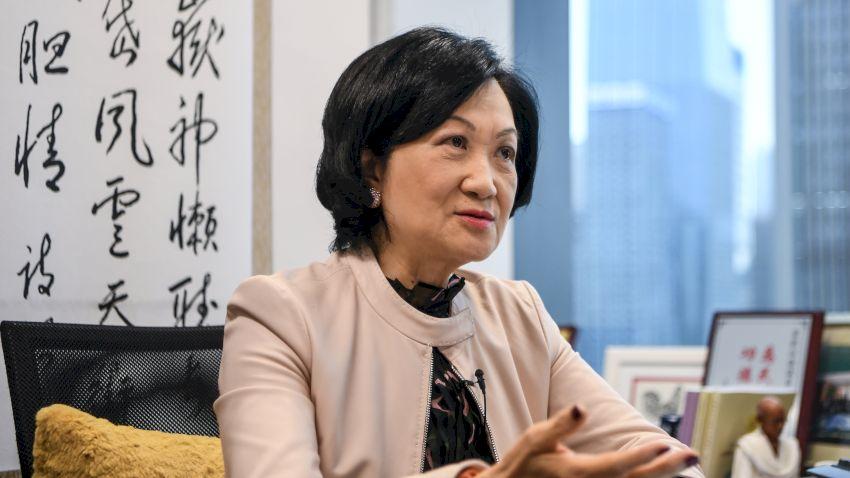 葉劉淑儀:在中國共產黨支持下 香港定有光明未來