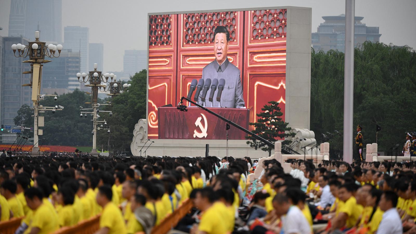 習近平:中華民族任人宰割、飽受欺淩的時代一去不復返