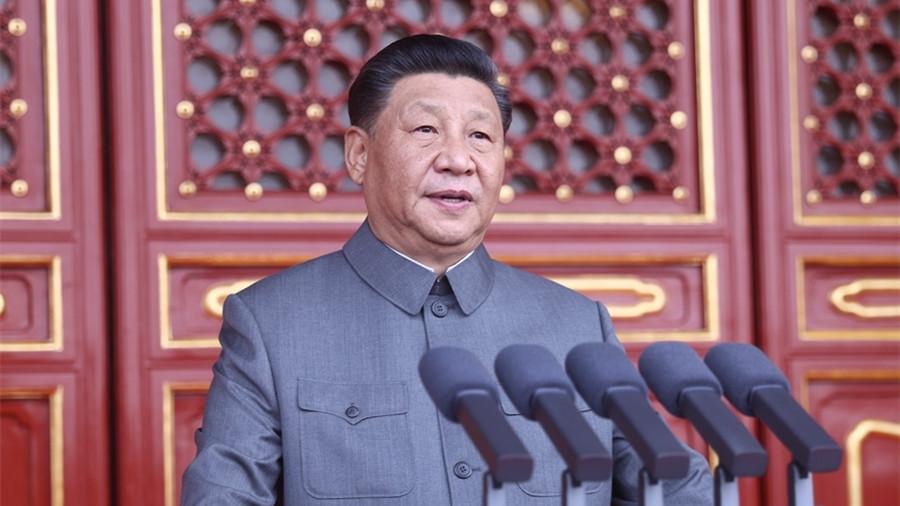 習近平:中國已實現第一個百年奮鬥目標 全面建成小康社會