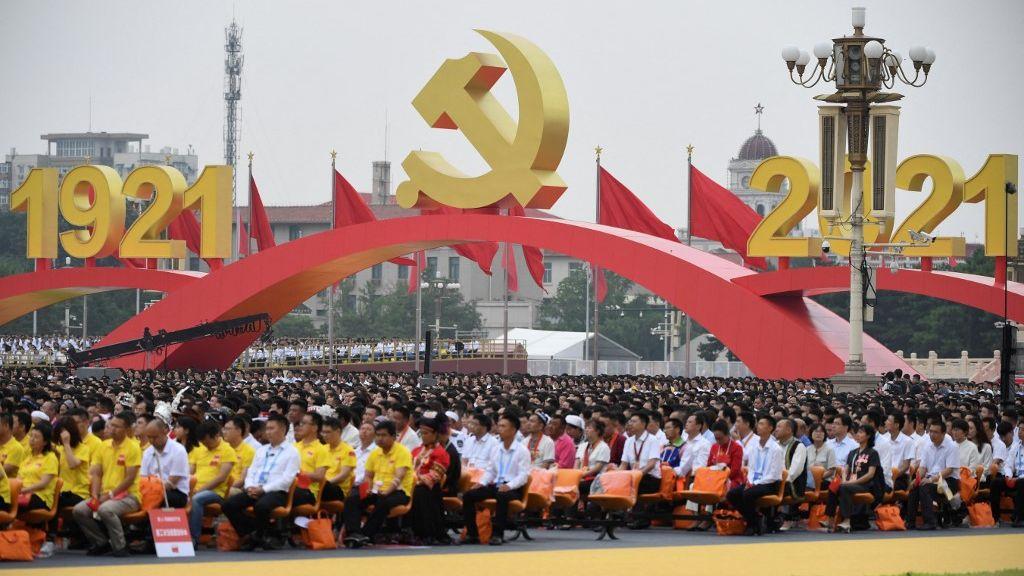 日本自民及立憲兩黨高層祝賀中國共產黨建黨百年