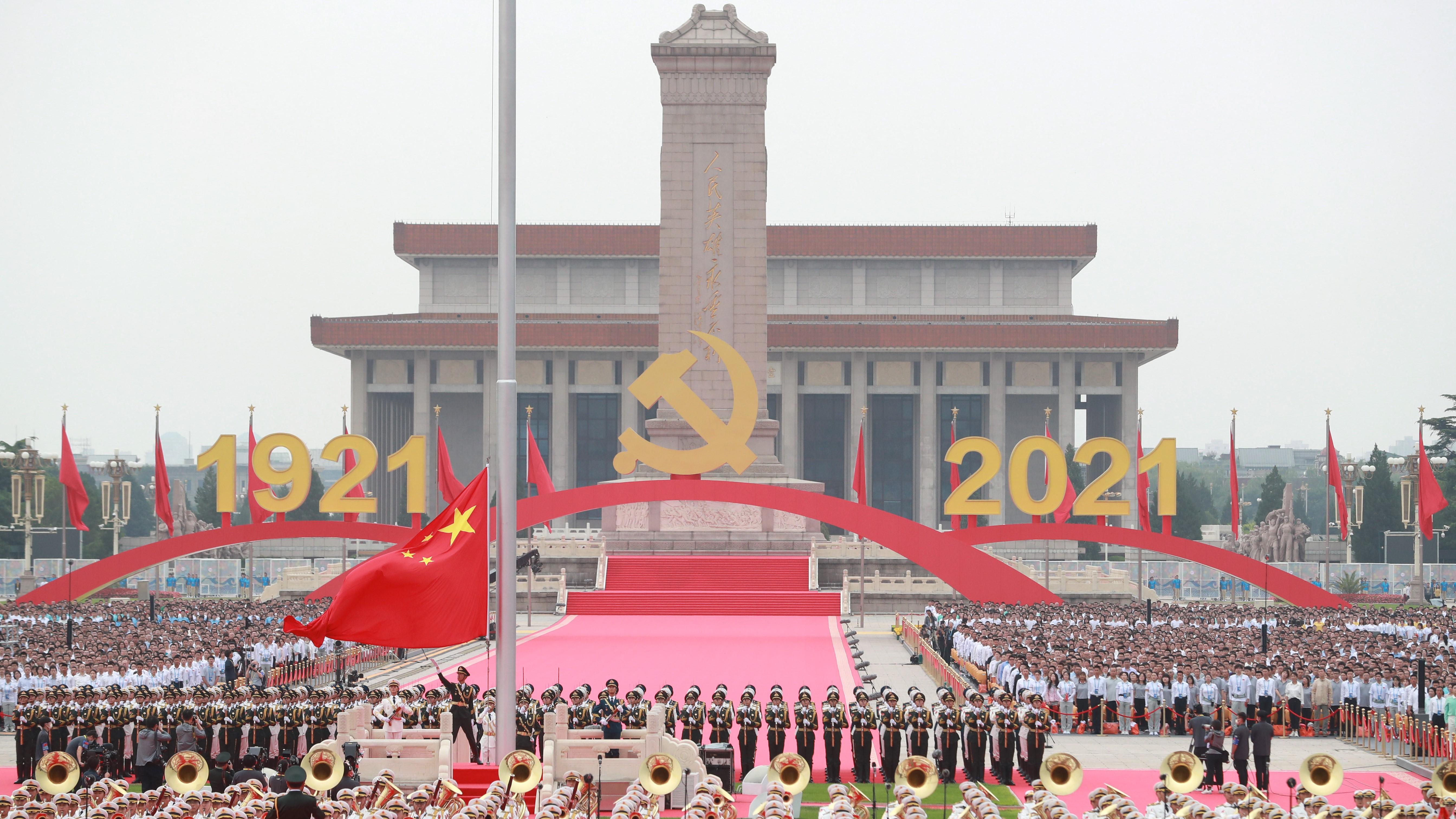 【周文港】為人民服務的主題,貫穿百年黨慶