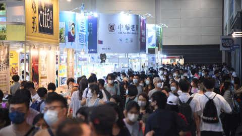 香港書展圓滿結束!逾83萬人次入場-小說類書種最受歡迎