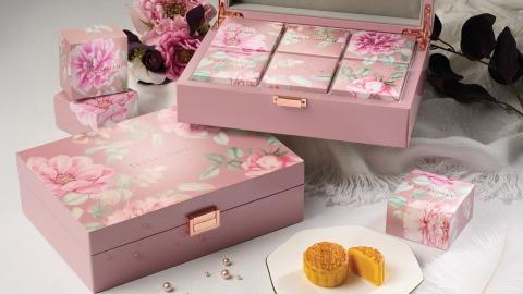 【日常滋味】雙黃白蓮蓉+迷你奶黃味-朗廷酒店經典中秋月餅禮盒