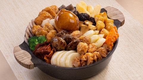 【日常滋味】首推外賣素食盆菜-富豪酒店六位用盆菜盛宴