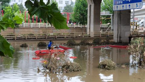 【吳桐山】北方雨災背後的氣候災難