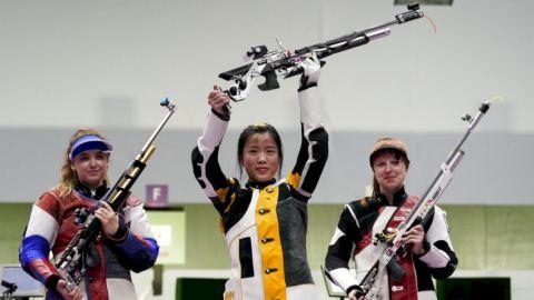 【東京奧運】「00後」楊倩氣步槍奪冠 延續國家隊第一金傳統