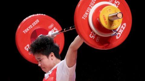 【東奧賽果】中國隊第二金 侯志慧奪女子舉重49公斤級冠軍