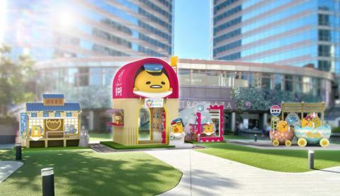 梳乎蛋限定主題樂園:仿日本旅遊-迷你機場登陸新都會廣場