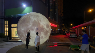 【好去處】大型光影SHOW觀塘上映 巨型月亮發光玉兔陪你過中秋!