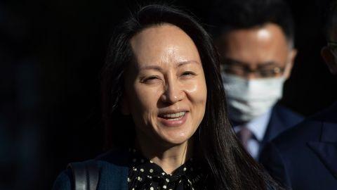 孟晚舟在中國政府包機上發佈感言:中國紅照亮我人生的至暗時刻